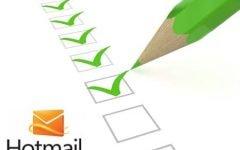 Como criar uma conta Hotmail ?