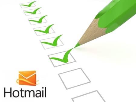Como criar uma conta Hotmail