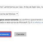 É possível excluir uma conta do Hotmail?