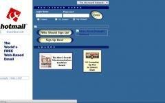 História do Hotmail